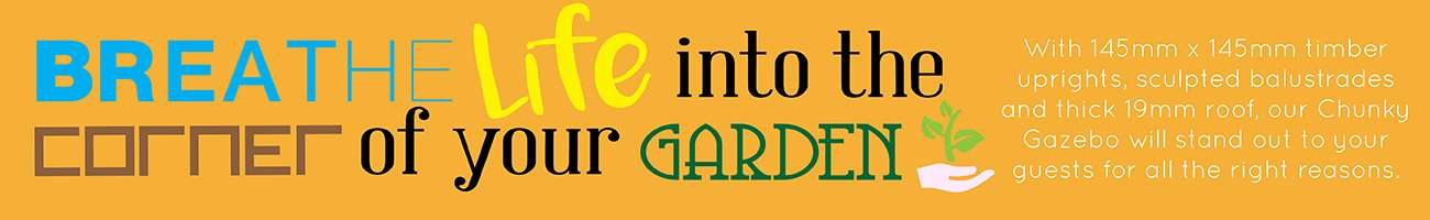Gazebo Breathe Life Into Your Garden Banner 01.12.17