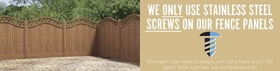 Fence Panel Stainless Steel Screws