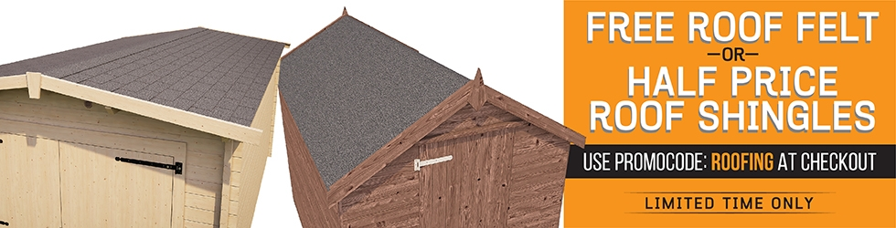 Free Roofing Felt or Half Price Shingles 04.07.16