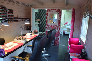 nail station log cabin
