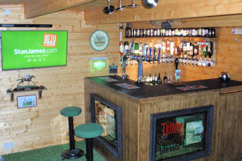 garden pub interior with bar