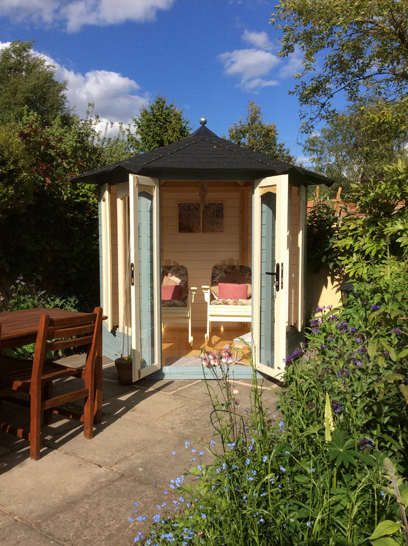 Rescued by the valerie summerhouse for Newhouse sheds