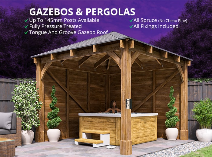 Thatched Gazebo Optional Extras