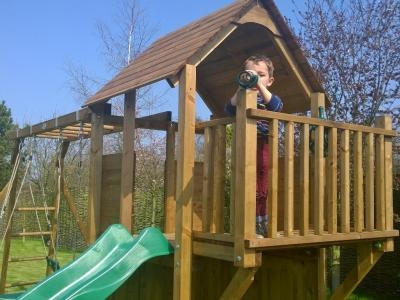 Juniorfort tower climbing frame x climbing for Balcony unreserved