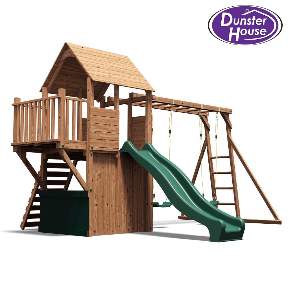 balconyfort searcher childrens climbing frame swing and slide dunster house. Black Bedroom Furniture Sets. Home Design Ideas