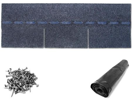 Black Roof Shingle Kit