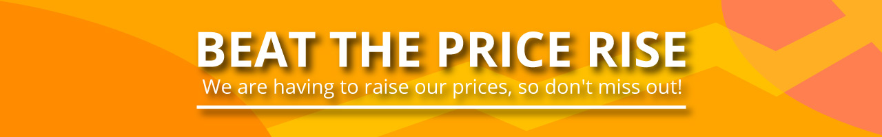 Beat the price rise promotion