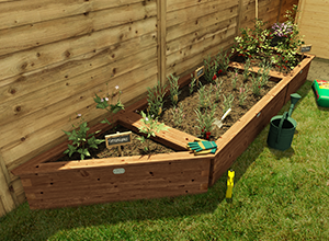 Planters and beds