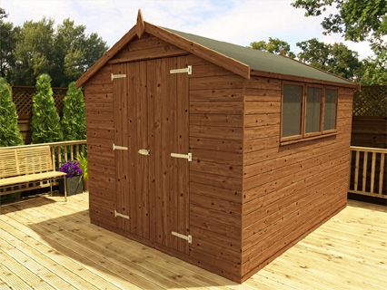 Wooden Sheds Pressure Treated