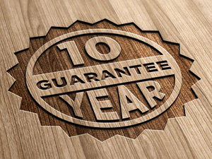 log cabin 10 year guarantee
