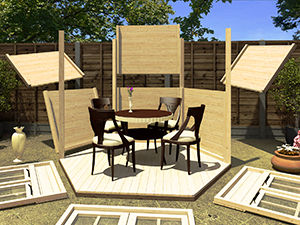 Summerhouses Easy To Build Panel System