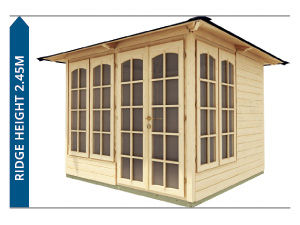 Summerhouses Avoid Planning Permission