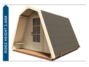 Outdoor Living Camping Pods Avoid Planning Permission II