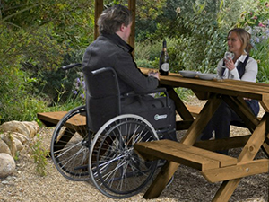 Garden Furniture Disability-Friendly Picture