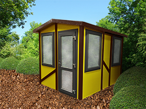 Garden Offices Customisable Exterior II