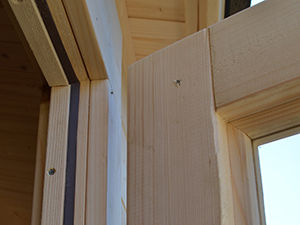 Log cabin quality windows