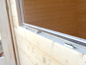 Log cabins quality windows