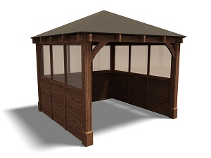 gazebos with sides