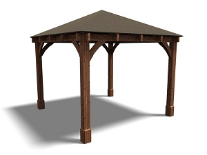 Gazebos Heavy Duty Framework Open