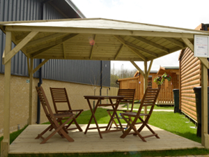 timber gazebo kit for sale