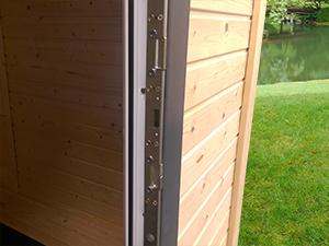 Outdoor Living Shepherds Hut - 9 Point Locking System II