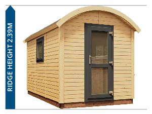 Outdoor Living Shepherds Hut Avoid Planning Permission II