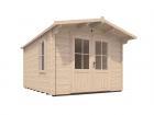 Premiumplus Rhine Log Cabin W4 0m X D3 0m Log Cabins