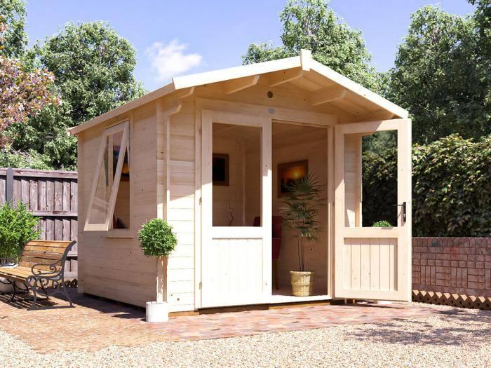 Avon Log Cabin W2.5m x D2.5m   Log Cabins   Dunster House