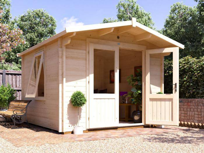 Avon Log Cabin W3.0m x D3.0m | Log Cabins | Dunster House