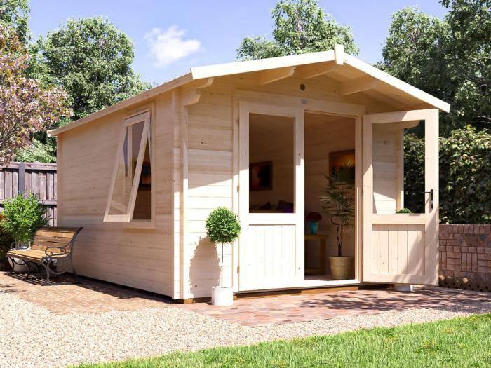 Avon Log Cabin W3.0m x D4.0m | Log Cabins | Dunster House