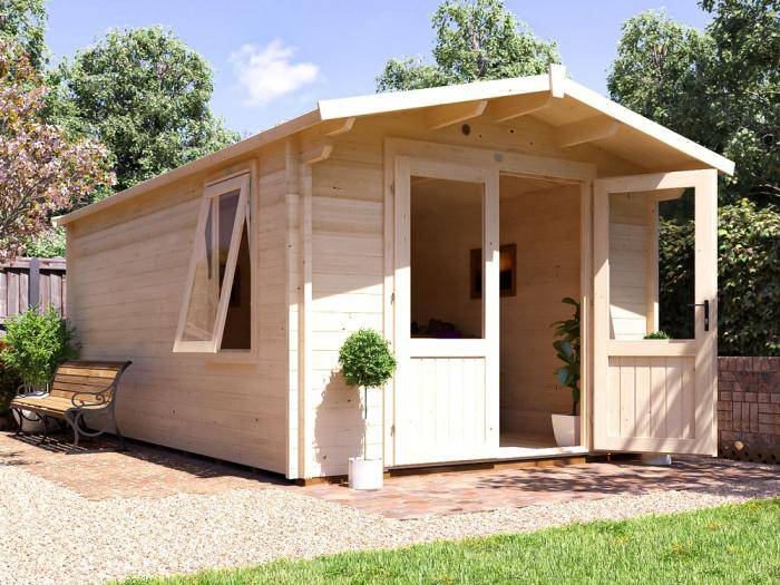 Avon Log Cabin W3.0m x D5.0m | Log Cabins | Dunster House