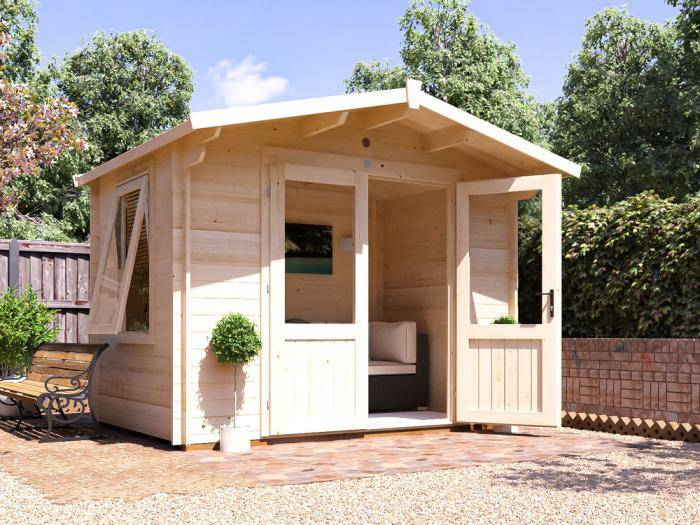Avon Log Cabin W3.0m x D2.0m | Log Cabins | Dunster House