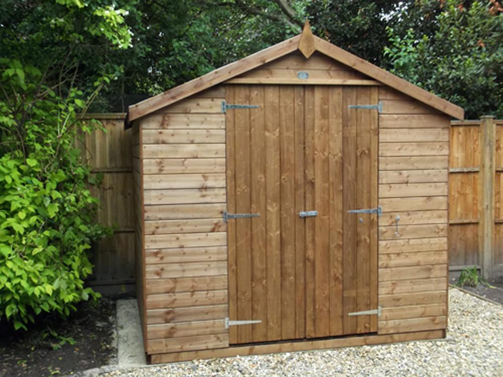 Birgi Heavy Duty Pressure Treated Shed W2.44m x D1.84m