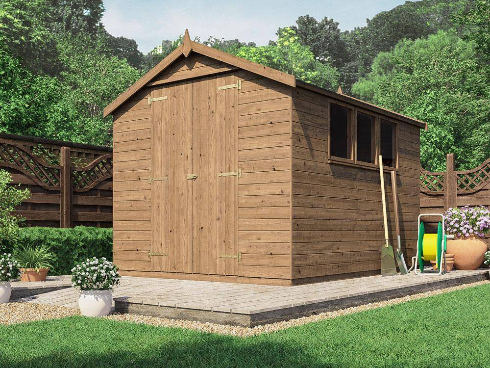 Birgi Heavy Duty Pressure Treated Shed