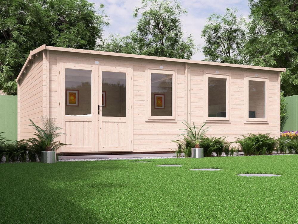 Carsare Grande Log Cabin | Log Cabins