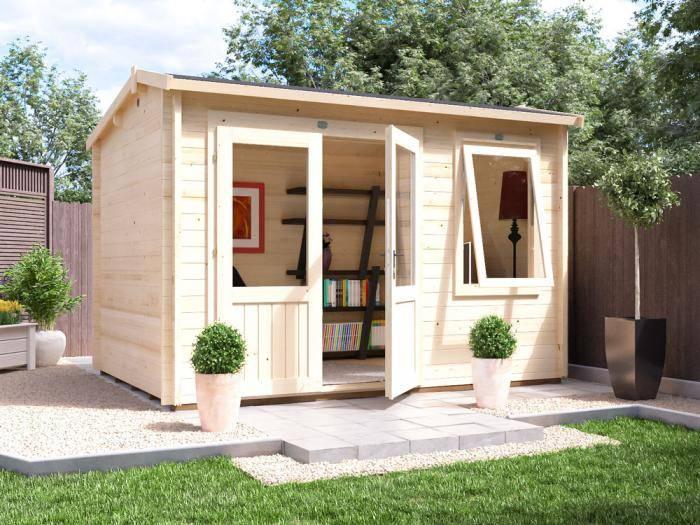 Carsare Log Cabin W3.5m x D2.5m | Log Cabins | Dunster House