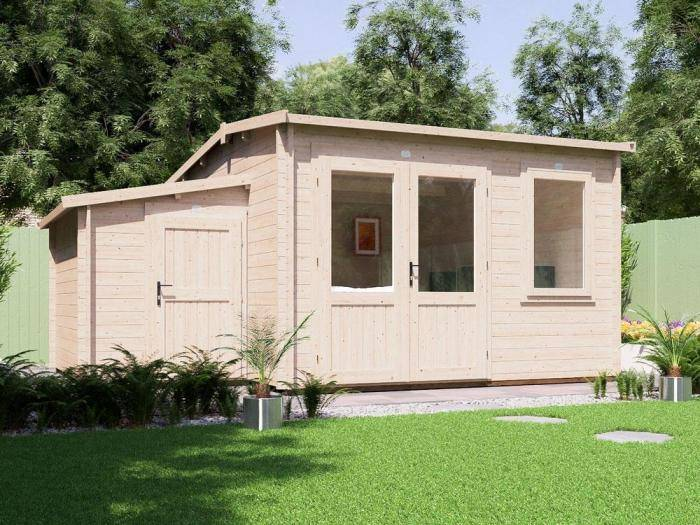 Carsare-log-cabin-with-sidestore-storage-3