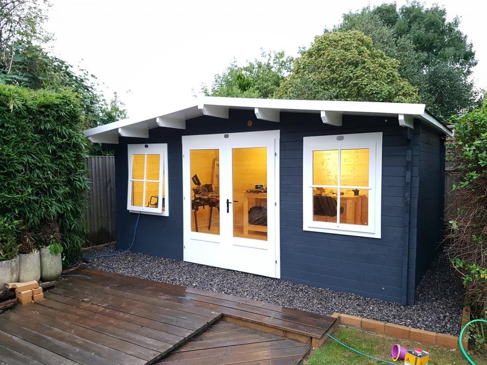 Premiumplus Severn Log Cabin W5 0m X D3 0m Log Cabins