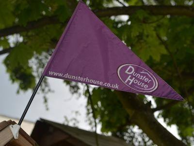 Extra Dunster House Flag