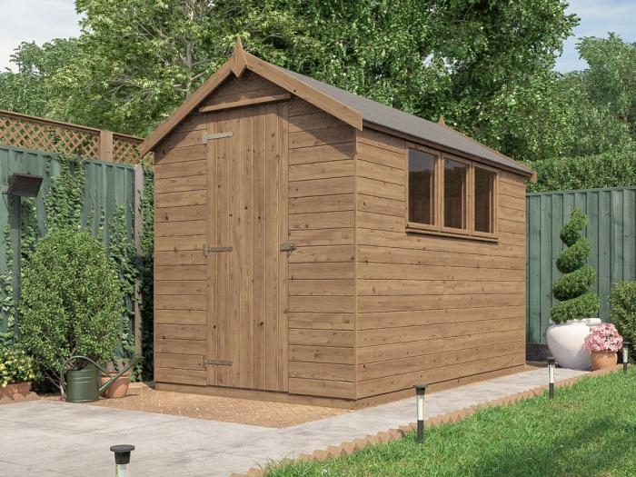 Finli Pressure Treated Shed | Sheds & Storage