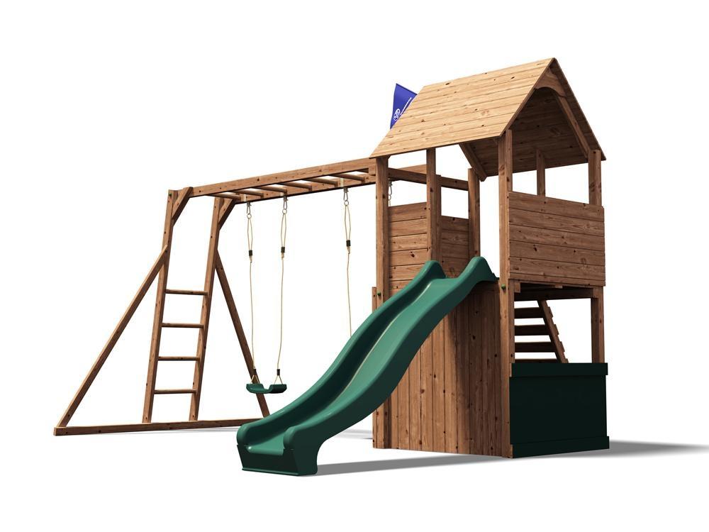 swing sets kids climbing frame playhouse slide monkey bar children climbing wall. Black Bedroom Furniture Sets. Home Design Ideas