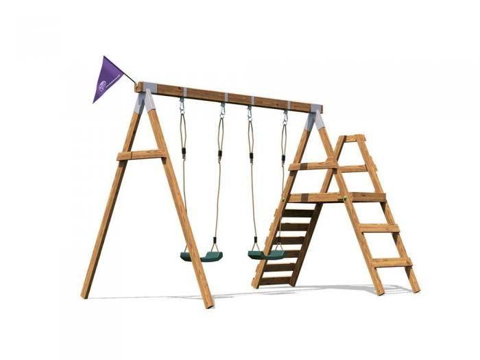 FoxCub Swing Set Climbing Frame | Climbing Frames