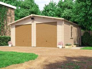 Deore Double Garage Inc. Metal Doors