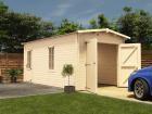 Trent Lo Roof Wooden Garage W3 05m X D5 5m Garages