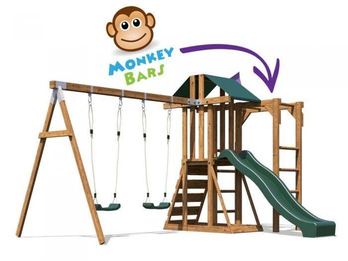 JuniorFort Monkey Climbing Frame | Climbing Frames