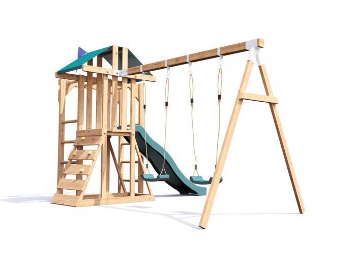 JuniorFort Monkey Climbing Frame W3.8m x D2.9m | Climbing Frames