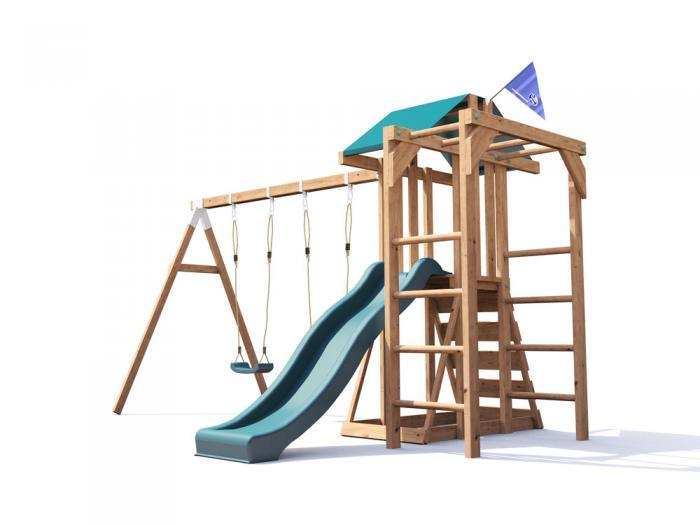 JuniorFort Monkey Climbing Frame W3.8m x D2.9m