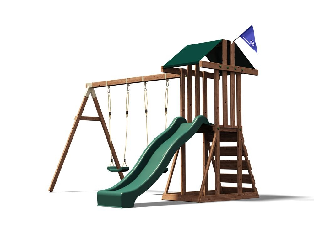Kids Climbing Frame Swing Slide Sets Garden Play Set Childrens ...