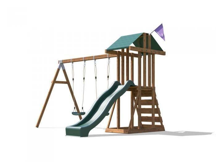 JuniorFort Tower W3.2m x D2.9m | Climbing Frames