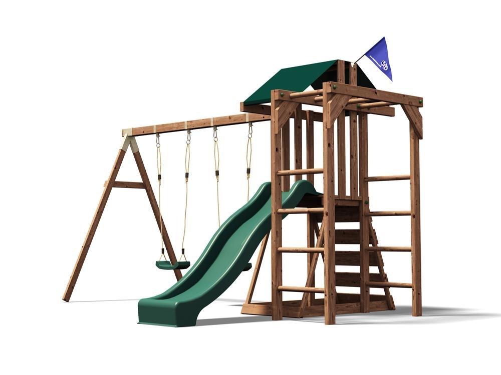 Childrens Climbing Frame Swing Sets Slide Monkey bars Play